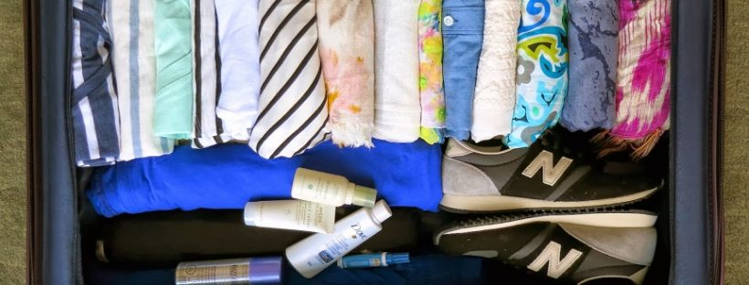pack clothes without wrinkling